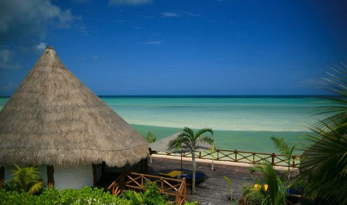 Las Nubes boutique hotel in Isla Holbox #JourneyHolbox