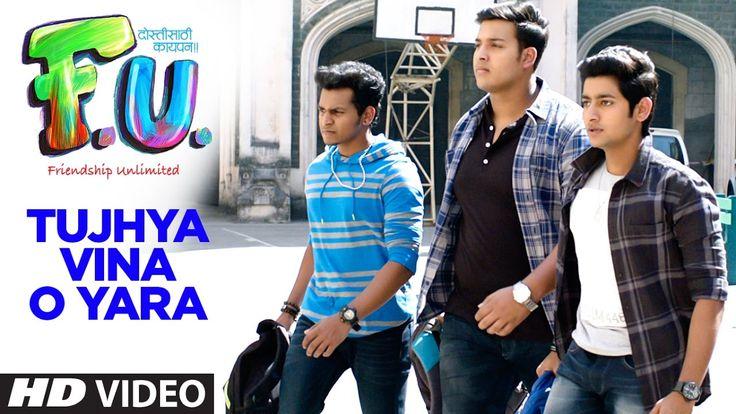 cool Tujhya Vina O Yara (Marathi Song) | FU - Friendship Unlimited || Sonu Nigam