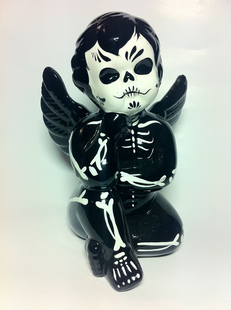 cute way to remake a dollar store angel figurine?