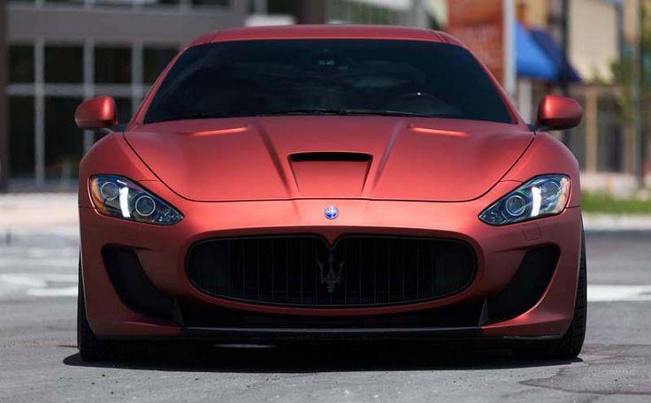 2018 Maserati Granturismo overview