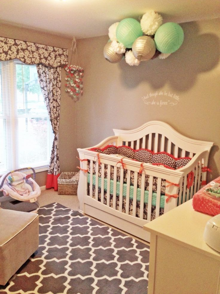 1707 best girls room non pink images on pinterest for Nursery project ideas
