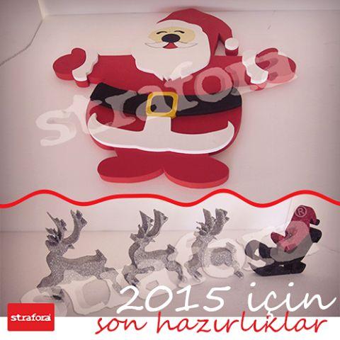 Yılbaşı süslemeleriniz hazır mı? Strafora'da süsleme ve hediye alternatiflerini kaçırmayın!  #Strafor #Süsleme #Yeniyıl #Hediye #Yılbaşı #Noelbaba