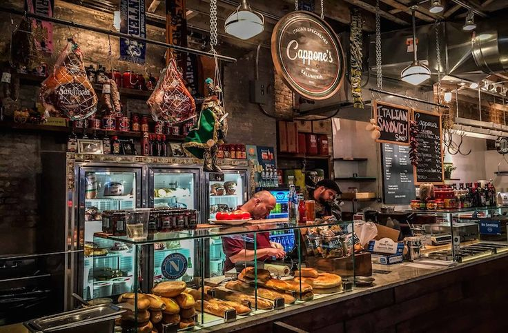 Looking for something a little different for dining in New York City? Check out Gansevoort Market in the West Side for some awesome, cheap alternatives!