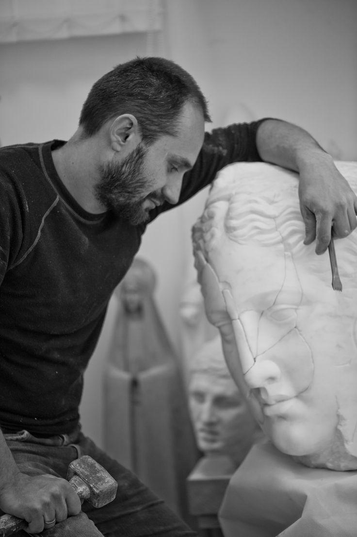 Michal Jackowski, Art Workshop  #sculptures #woman #artact #humans #antique #pinart #creative #passion #love #art #classic #feather #soft #exhibition #polishart #artist #work