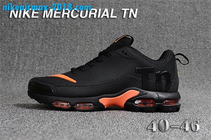 92e67a0658 Fashion Mens Nike Air Max TN KPU For Sale Black Orange | nike air ...