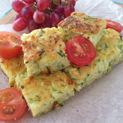 This zucchini slice is so easy to make and very tasty. It is perfect for a…