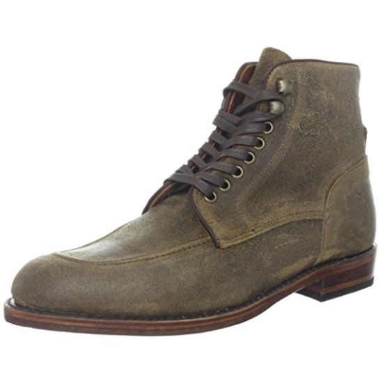 FRYE Walter Lace-Up Suede Boot (Men)