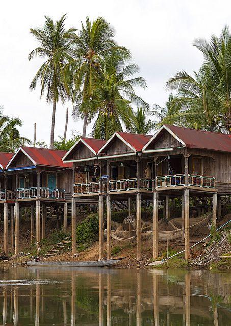 Mekong River, Don Khong Island, Laos