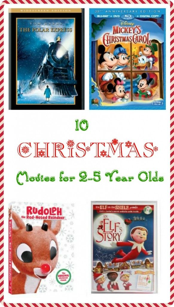 10 Best Christmas Movies for Toddlers!