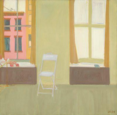 Alex Katz (American, b. 1927), Folding Chair, 1959