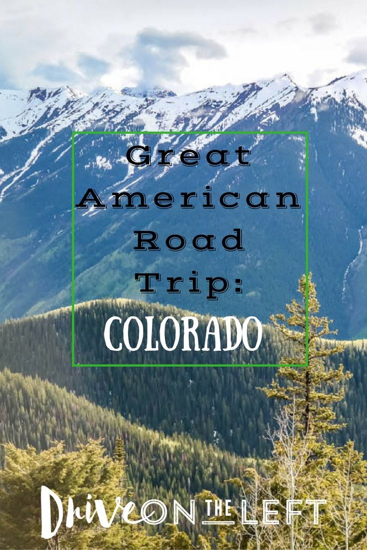 Another article in our 'Great American Road Trip' series, as we explore Colorado this time. There is something special about being surrounded by the Rocky Mountains.