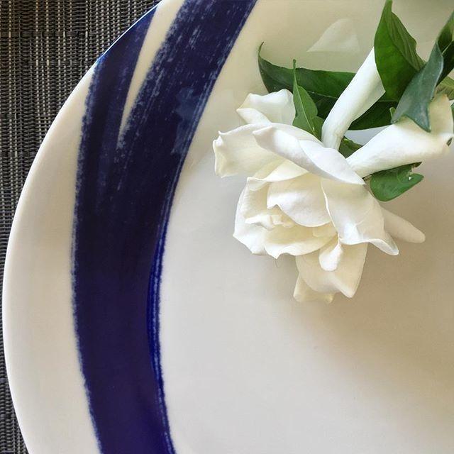 China & Gardenia #repost @danlefrt @royaldoulton