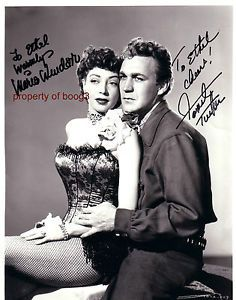 Marie Windsor with Forrest Tucker...