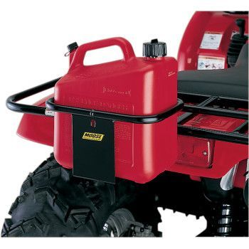 """MOOSE UTILITY DIVISION UTILITY CAN CARRIER.  Fits on front or rear tubular metal ATV racks.  """"VISIT SITE"""" ABOVE FOR ALL INFO."""