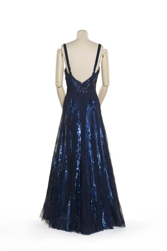 robe du soir | Centre de documentation des musées - Les Arts Décoratifs 1939