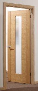Aragon Oak Glazed Internal Door #glazeddoors