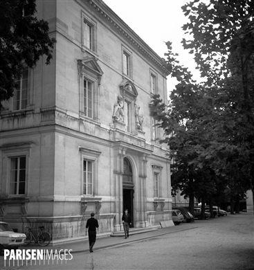 Paris. Ecole Normale Supérieure, rue d'Ulm.
