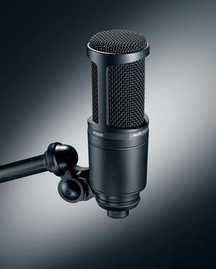 Audio Technica At2020 Studio Recording Microphone Cardioid Condenser Mic3 A In 2021 Recording Microphone Audio Technica Microphone