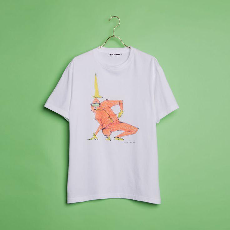 FRANK ロング Tシャツ P LONG TEE ピー ロング ティー
