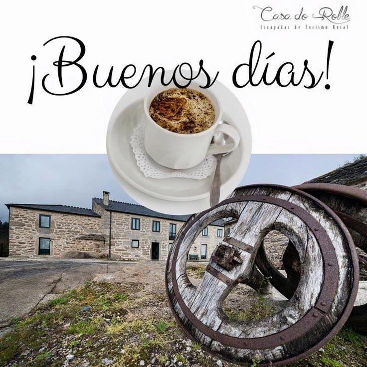 disfrutar en Casa do Roble   info@casadoroble.com 600 550 552 www.casadoroble.com  #Buenosdías #turismorural #Galicia #travel
