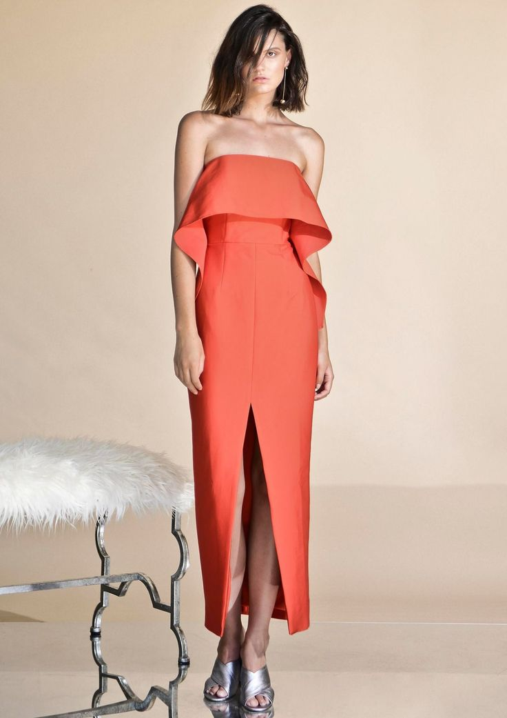 Pink Stitch - Ps The Label All The Ways Dress - Scarlet