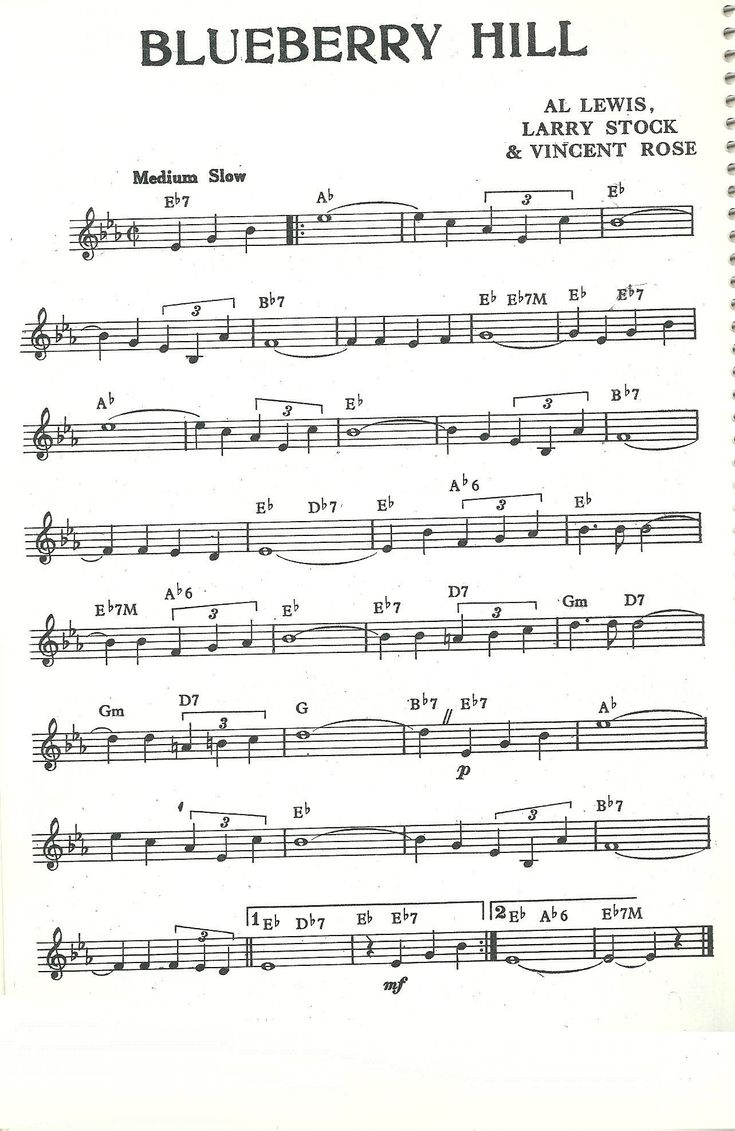 Songtext von Fats Domino - Blueberry Hill Lyrics