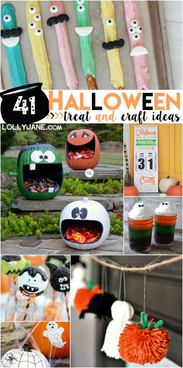 40 halloween treat and craft ideas lots of spooky decor and cute halloween kid