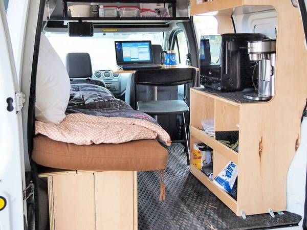 2010 Ford Transit Connect Camper For Sale In Red Lodge
