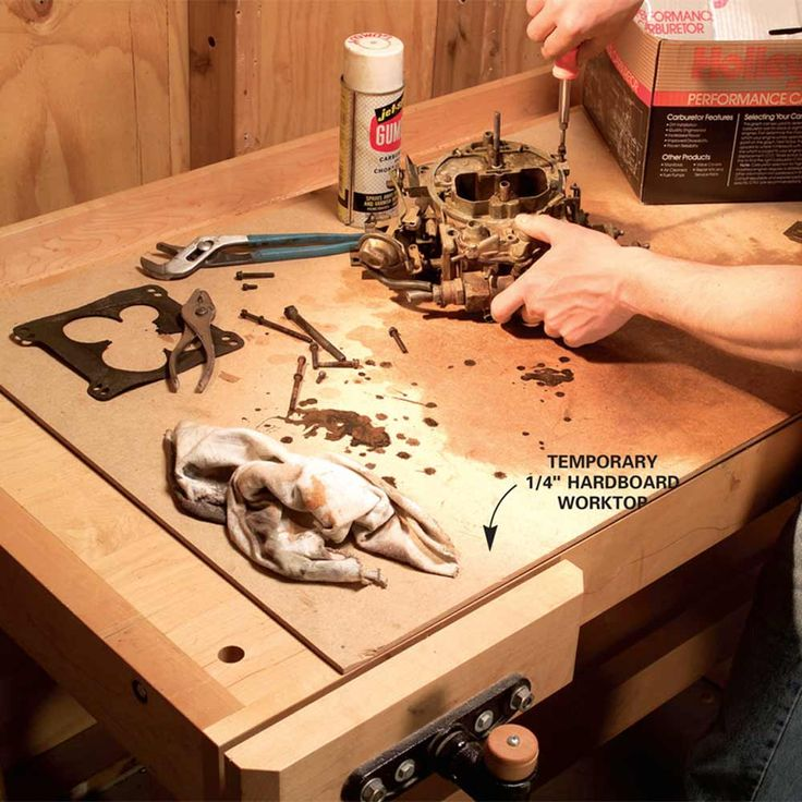 how to fix destroyed work bench