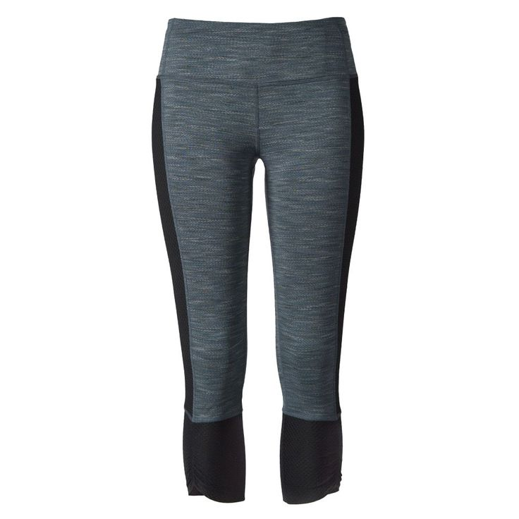 Get ample wardrobe crossover in these technical capris that are made to move. MPG performance jersey is wicking and quick to dry. A wide waistband is comfortable and secure when you're tackling inverted moves or breaking a new minute mark.