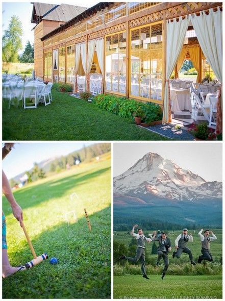 I Want That Outdoor Patio Tent Wood Thing Mt Hood Organic Farms