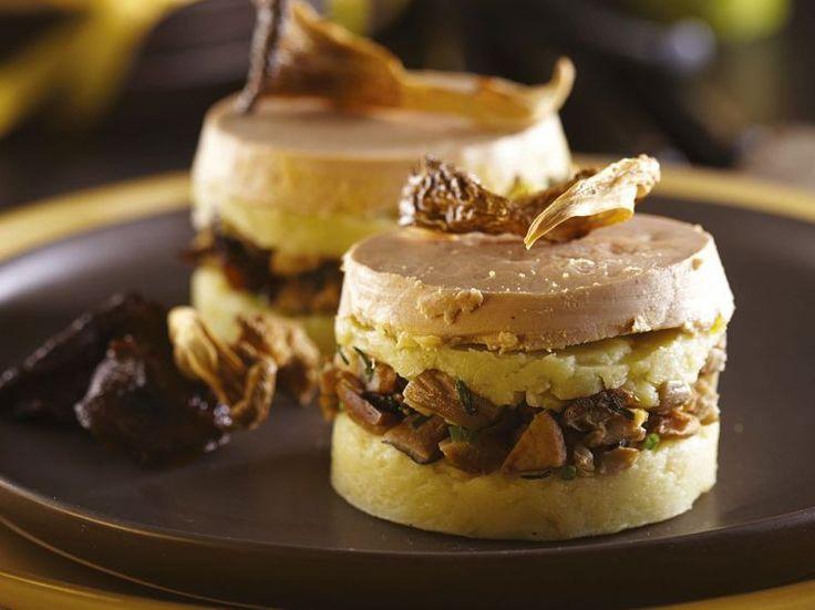 Découvrez la recette Parmentier au foie gras sur cuisineactuelle.fr.