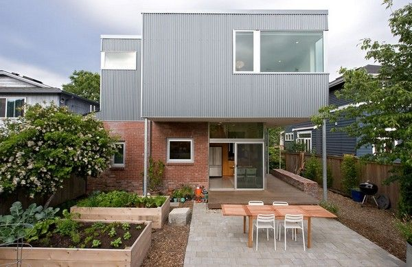 home addition Freshome18 Modern and Practical Addition to a Seattle Brick Bungalow