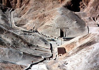 The Valley of the Kings in Egypt where a man offered me a trillion camels for my hand in marriage