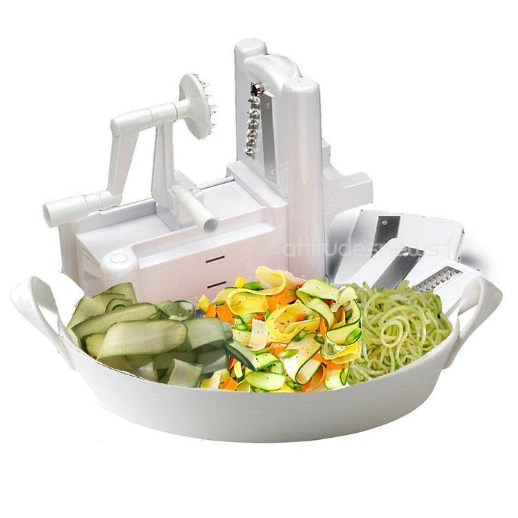 konstar ks0006a coupe l gumes et fruits spiral 3en1 turning slicer cuisine. Black Bedroom Furniture Sets. Home Design Ideas