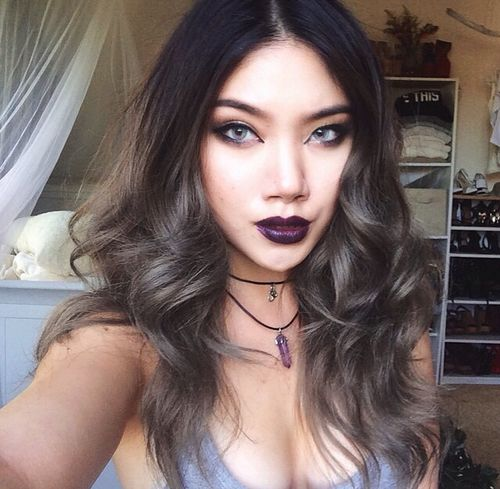 Black to grey ombre!