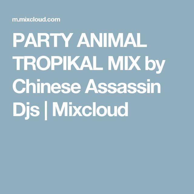 PARTY ANIMAL TROPIKAL MIX by Chinese Assassin Djs | Mixcloud