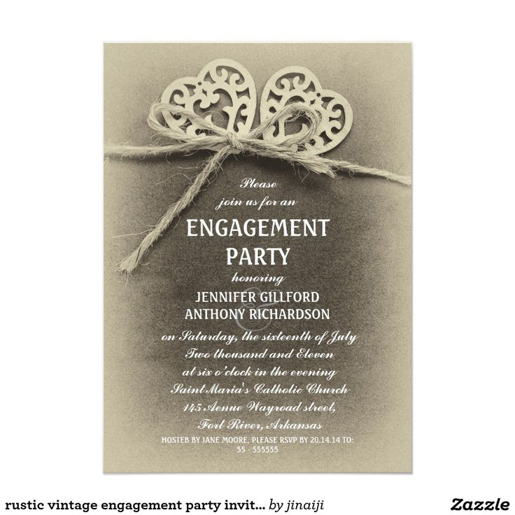 35 best Engagement Party Invitations images on Pinterest ...