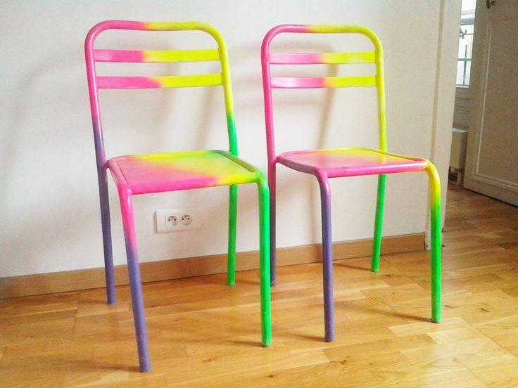 rainbow chairs - flo de richefort