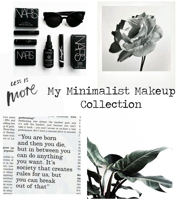 My Minimalist Makeup Collection