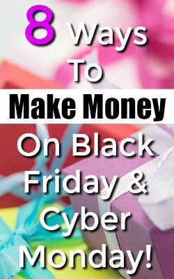 Are You Ready For The Biggest Shopping Holidays of the Year? Use these 8 Methods to make the most money possible on Black Friday & Cyber Monday!
