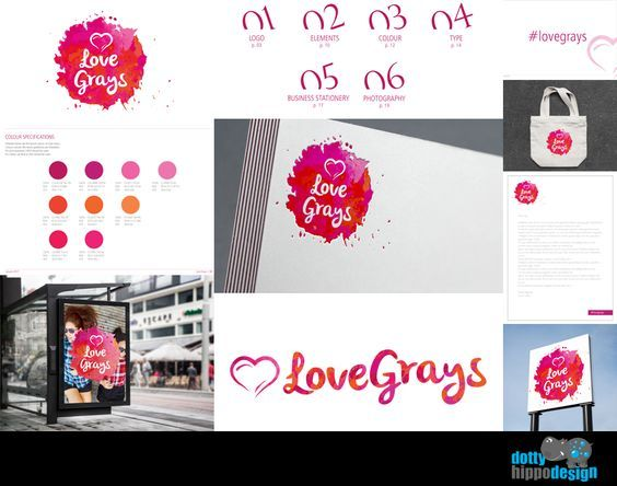Branding project for Love Grays