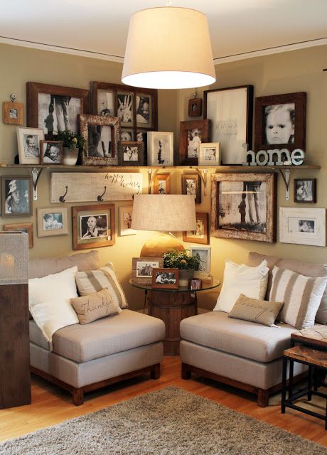 25 best den ideas on pinterest basement decorating for Den living room designs