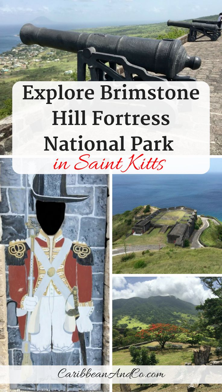 Visit Brimstone Hill Fortress National Park when you travel to St Kitts for vacation as it is one of the current 19 Caribbean UNESCO World Heritage sites due to the historical, architectural and cultural significance of the fortress. From the lofty perch, vistas of the Caribbean sea, neighboring islands and lush rainforest abound. #StKitts #SaintKitts #CCStKitts