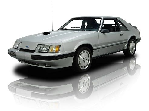 Ford Mustang SVO (1984 – 1986).