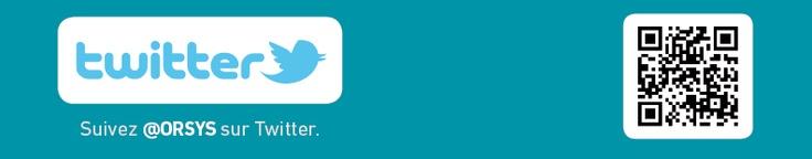 QR CODE Twitter d'ORSYS Formation Entreprise – Expertise - Communication /  Retrouvez nos QR codes pour accéder à nos réseaux sociaux et à nos formations / Découvrez nos offres d'emploi : http://www.orsys.fr/?mode=recrutement