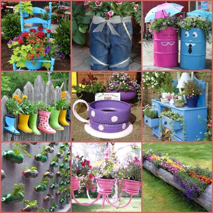 130 best Gartendekoration Ideen images on Pinterest Creative - schoner garten mit wenig geld
