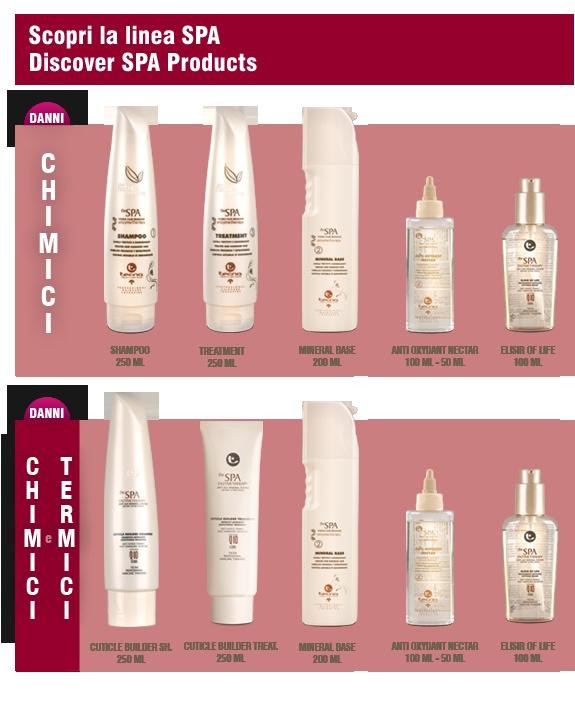 Nuovi Prodotti - New Products | SPA Inner Circle - Saloni certificati sulla ricostruzione dei capelli