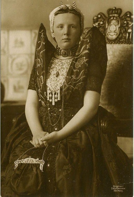 Queen Juliana in Dutch costume