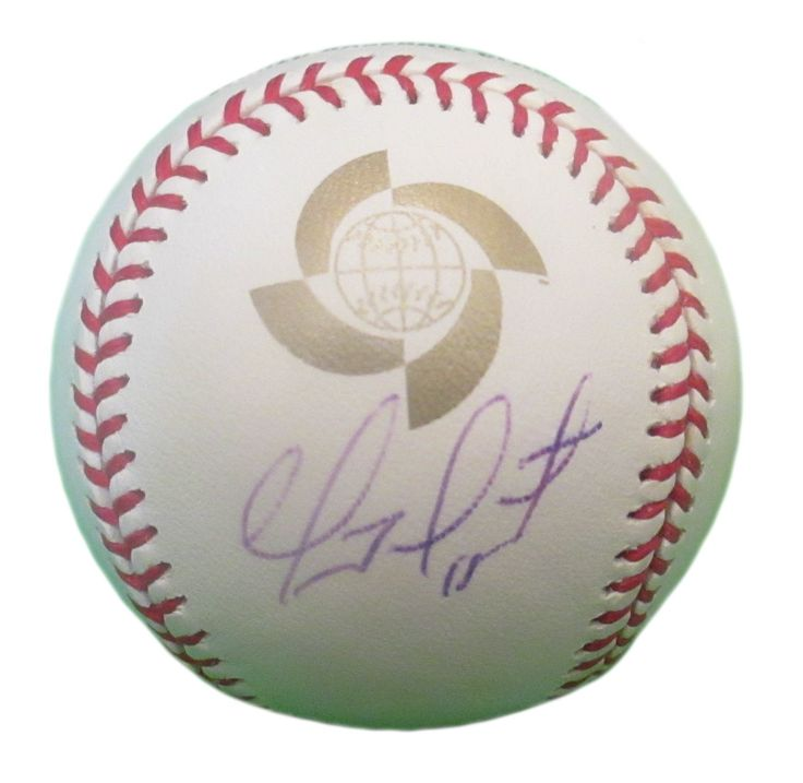 Geovany Soto Autographed Rawlings 2009 World Baseball Classic Official Baseball, Proof. Geovany Soto Signed Rawlings 2009 World Baseball Classic Official Game Baseball, LA Angels, Chicago Cubs, Texas Rangers, Oakland Athletics, Proof   This is a brand-newGeovany Sotoautographed Rawlings 2009 World Baseball Classic official gameleather baseball.Geovanysigned the baseball in blueball point pen.Check out the photo of Geovanysigning for us. ** Proof photo is included for free with…